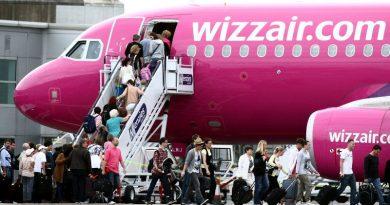 WIZZ AIR: Zborurile spre Austria, Italia, Germania, Spania, Marea Britanie și alte țări, suspendate până pe 16 iunie