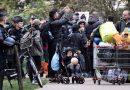 FRANȚA: Autoritățile au evacuat o tabără de 1.800 de migranți ilegali – VIDEO