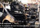 Patru mașini ale unui român, incendiate în Spania. Poliția a deschis o anchetă