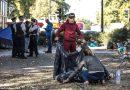 Tabără de români și bulgari, evacuată dintr-un luxos cartier din Londra – VIDEO