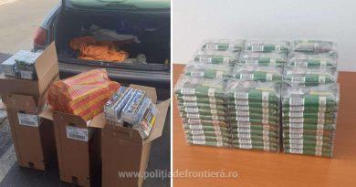 Englez, prins la Giurgiu cu țigări ascunse printre bagaje. Intenționa să le vândă în Marea Britanie