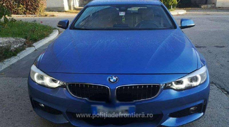 BMW căutat de autoritățile italiene, primit garanție de un român în schimbul unei datorii, confiscat în Iași