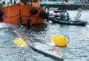 Premieră în Europa: Un submarin lung de 20 m, plin cu trei tone de cocaină, a fost interceptat