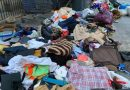 Cinci TONE de haine, cosmetice și mâncare, furate de români și sud-americani, confiscate în Spania într-un târg de vechituri