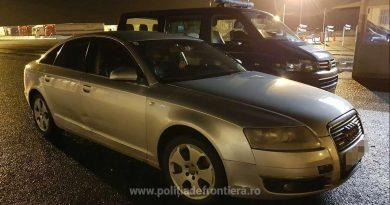 """Român, depistat la frontieră cu un Audi A6 furat din Germania: """"L-am luat din Austria, de la un turc"""""""