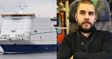 Român dispărut de patru luni de pe un feribot pe ruta Olanda- Anglia, de negăsit
