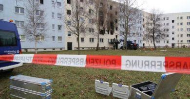 Explozie într-o clădire din Germania. Poliția a găsit butelii cu gaz și muniție de război