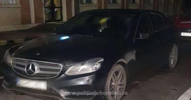 Mercedes furat din Anglia, depistat la frontieră. Șoferul a cumpărat mașina în 2016