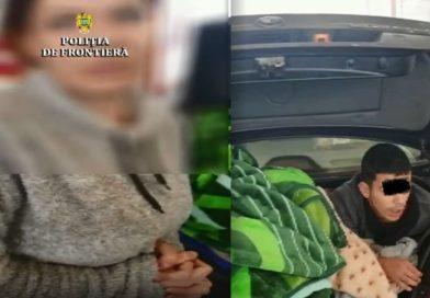O femeie și-a ascuns fiul de 13 ani în portbagaj ca să-l ducă în Spania
