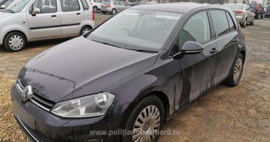 Mașină furată din Marea Britanie, găsită la Constanța. Șoferul este cercetat penal