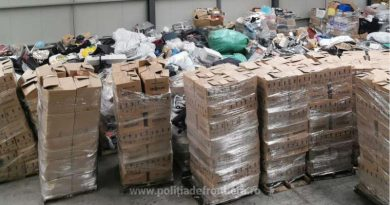 Gunoaie trimise ilegal din Marea Britanie în România  ca obiecte de uz casnic