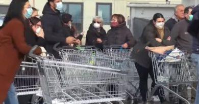 Italia înregistrează al treilea deces din cauza coronavirusului. Nu a fost confirmată infecția la niciun cetățean român