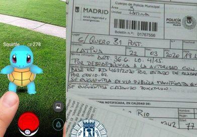 CORONAVIRUS: Un pensionar din Madrid, amendat pentru că vâna pokemoni