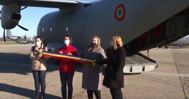 Medici și asistenți din România, transportați în Italia la bordul unei aeronave militare – VIDEO