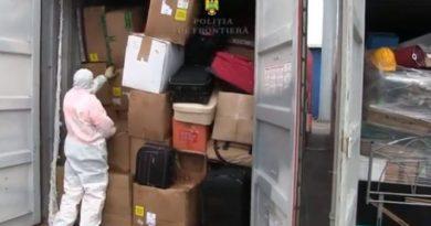 Container cu deșeuri aduse ilegal din Germania, depistat la Constanța
