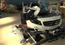 ITALIA: Români implicați în furturi și dezmembrări de mașini de lux. Piesele ajungeau în Maroc