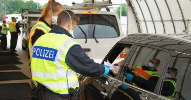 GERMANIA: Mii de polițiști federali, pe străzi pentru impunerea noilor restricții