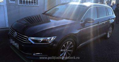 Mașină în valoare de 10.000 de euro, căutată de autoritățile britanice, confiscată la Nădlac