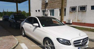 Mercedes în valoare de 20.000 de euro căutat de autoritățile din Germania, descoperit la frontieră