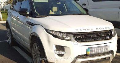 Controale pentru depistarea mașinilor furate: Range Rover căutat de autoritățile italiene, găsit în Suceava