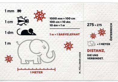 Serviciul poștal din AUSTRIA vinde timbre realizate din hârtie igienică și donează jumătate din încasări celor afectați grav de pandemie