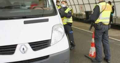 GERMANIA introduce controale stricte la frontieră. Persoanele din țări cu grad mare de infectare pot intra doar cu test PCR negativ