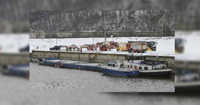 GERMANIA: O navă românească a eșuat pe Dunăre din vina căpitanului