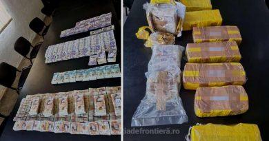 Un bărbat a încercat să scoată din România aproape 500.000 de lire sterline